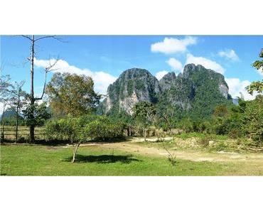 Vang Vieng : au cœur des massifs karstiques