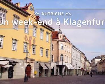 Klagenfurt le temps d'un week-end (en hiver)