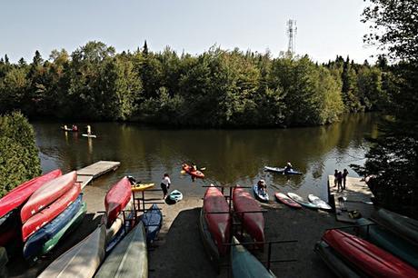 Une balade sur la rivière Haute-St-Charles.