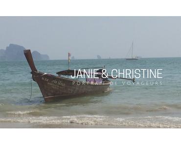 PORTRAIT DE VOYAGEURS |Janie & Christine