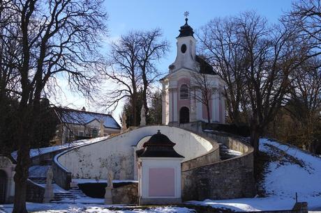 autriche basse-autriche niederösterreich stift abbaye heiligenkreuz wienerwald chemin de croix