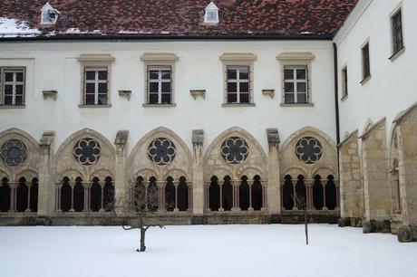 autriche basse-autriche niederösterreich stift abbaye heiligenkreuz wienerwald cloître