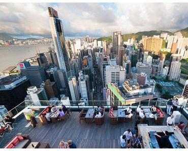 Les meilleurs rooftop bars de Hong Kong
