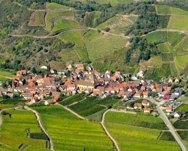 Découvrez le circuit du plus beau voyage en Alsace