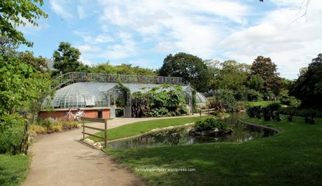 Dans les serres du Jardin des plantes de Nantes