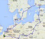 Road trip d'un moins en Europe du nord : Carnet de route
