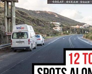 Les 12 endroits à ne pas manquer sur la Great Ocean Road