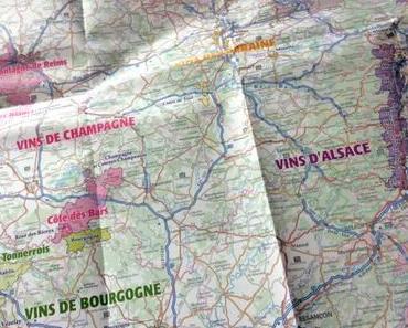 Découvrez la carte des vins de France IGN