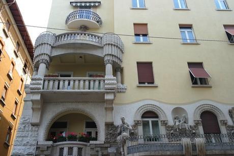 italie trieste liberty via commerciale casa valdoni
