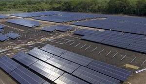 Nouveau parc solaire, plus grand Costa Rica