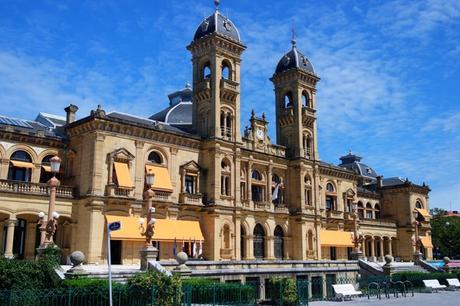espagne pays basque san sebastian vieille ville hôtel ville