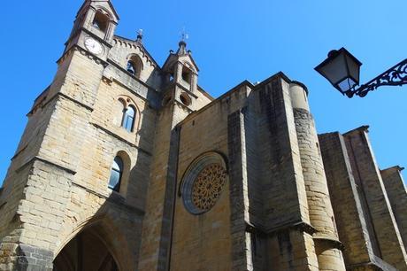 espagne pays basque san sebastian vieille ville église san vicente