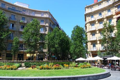 espagne pays basque san sebastian centre-ville