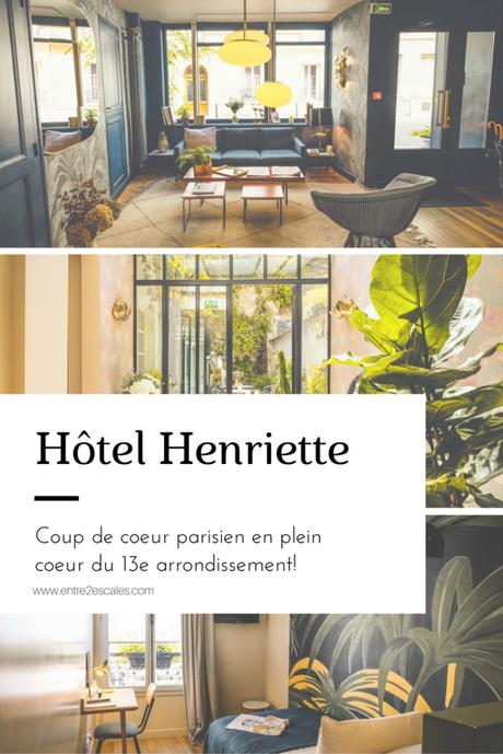 FRANCE |Coup de coeur parisien: Hôtel Henriette