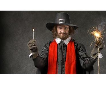 Guy Fawkes, the anonymous and the bonfires