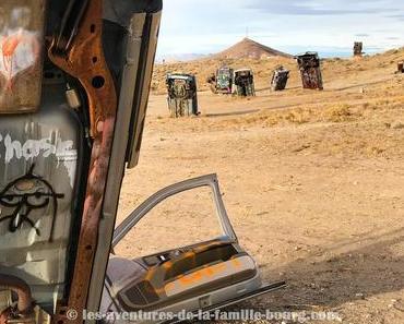 The International Car Forest Of The Last Church, une improbable découverte au Nevada