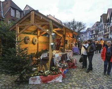 Découvrir le marché de Noël de Bergheim