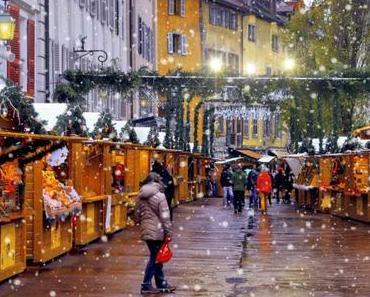 Découvrir le marché de Noël d'Annecy