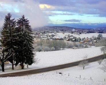 Un bel hiver au plateau des Bornes et au Salève