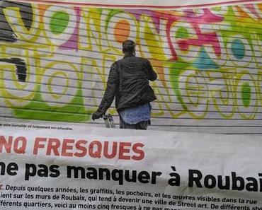 Balade en Nord vous fait découvrir Roubaix en 5 street art