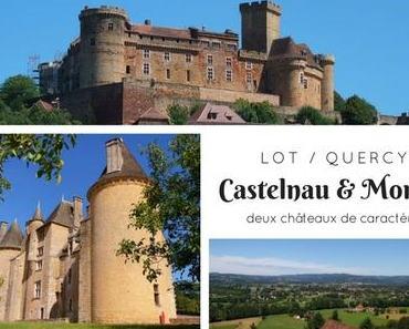 Une journée dans la vallée de la Dordogne : châteaux de Castelnau et Montal