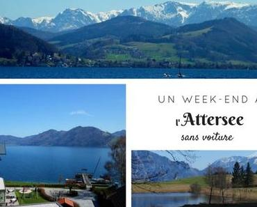 Un week-end sur les bords de l'Attersee... sans voiture