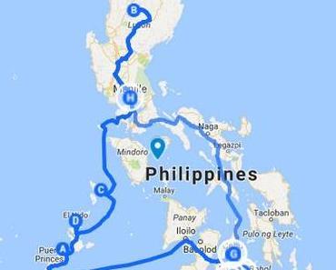 Carnet de voyage aux Philippines