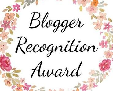 Blogger recognition award, episode 3 ou 4…