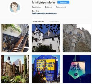 Instagram, blog mode vacances concours