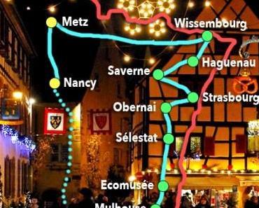 Mon Voyage de Noël en Alsace et Lorraine