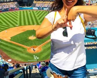 Match de baseball au Dodger Stadium