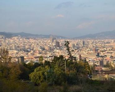 Le Montjuïc à Barcelone entre fontaine magique, téléphérique et Miró