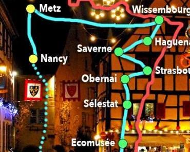 Le plus beau parcours-découverte de Noël à Nancy