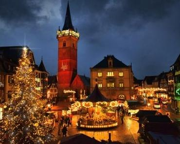 Les dates des marchés de Noël en Alsace-Lorraine