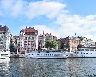 Escapade en bateau autour de Stockholm : île de Vaxholm