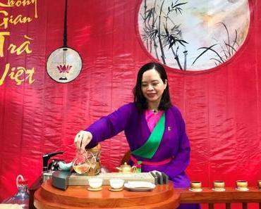 Lan Chi et son atelier de thé