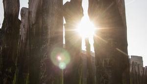 Cache-cache avec soleil Saint-Malo