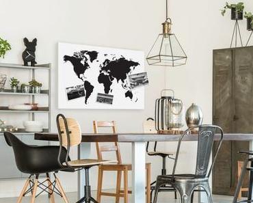 Quelle décoration murale pour un appartement d'un voyageur passionné ?