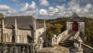 Sainte-Barbe, chapelle étonnante Faouët