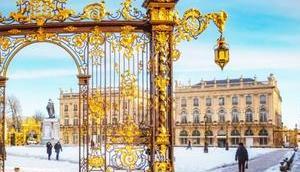 Balade-découverte Nancy sous neige