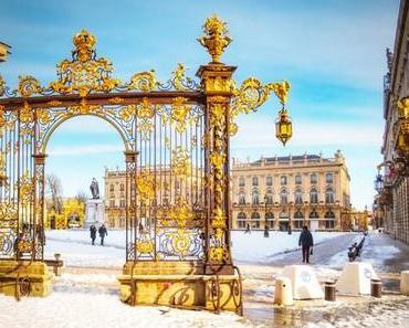 Balade-découverte à Nancy sous la neige