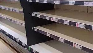 Thursday thunder: empty shelves full bullsh*t