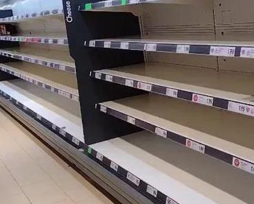 Thursday thunder: empty shelves and full bullsh*t