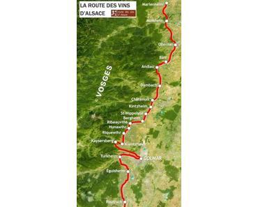 Le plus bel itinéraire touristique d'Alsace